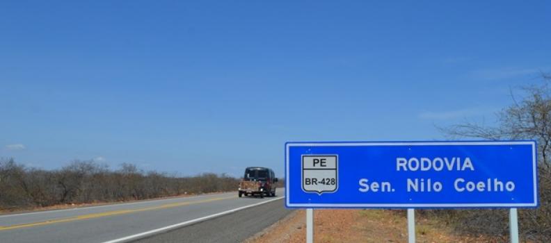 Casimiro anuncia investimento de 18 milhões para construção de viadutos da BR-428 em Pernambuco