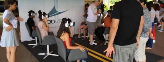 Realidade virtual pela segurança no trânsito