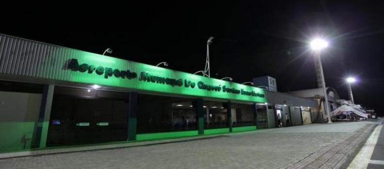 Assinado edital para concessão do aeroporto de Chapecó