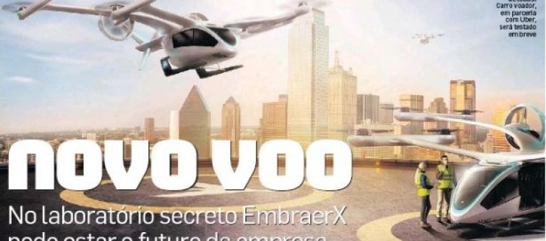 No laboratório secreto da EmbraerX pode estar o futuro da empresa