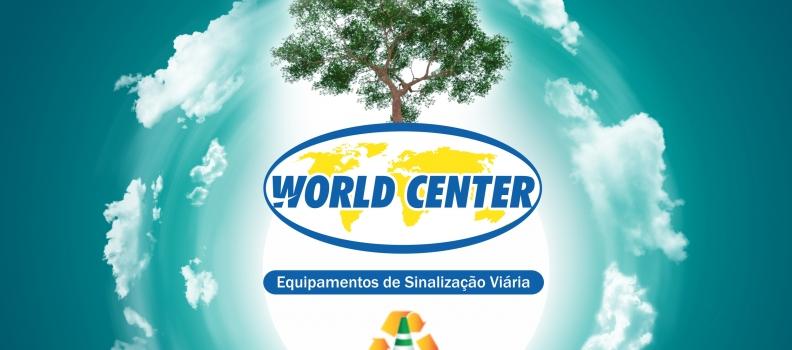 World Center lança linha ecológica de sinalização